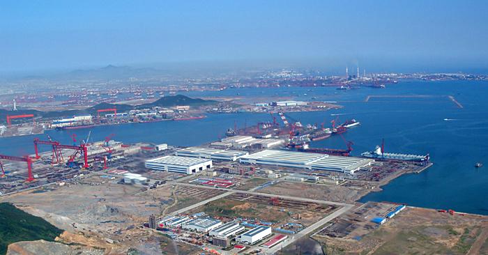 中国船舶重工集团公司对青岛北海船厂进行资产重组